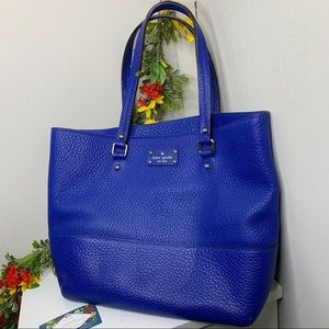 Kate Spade Electric Blue Tote